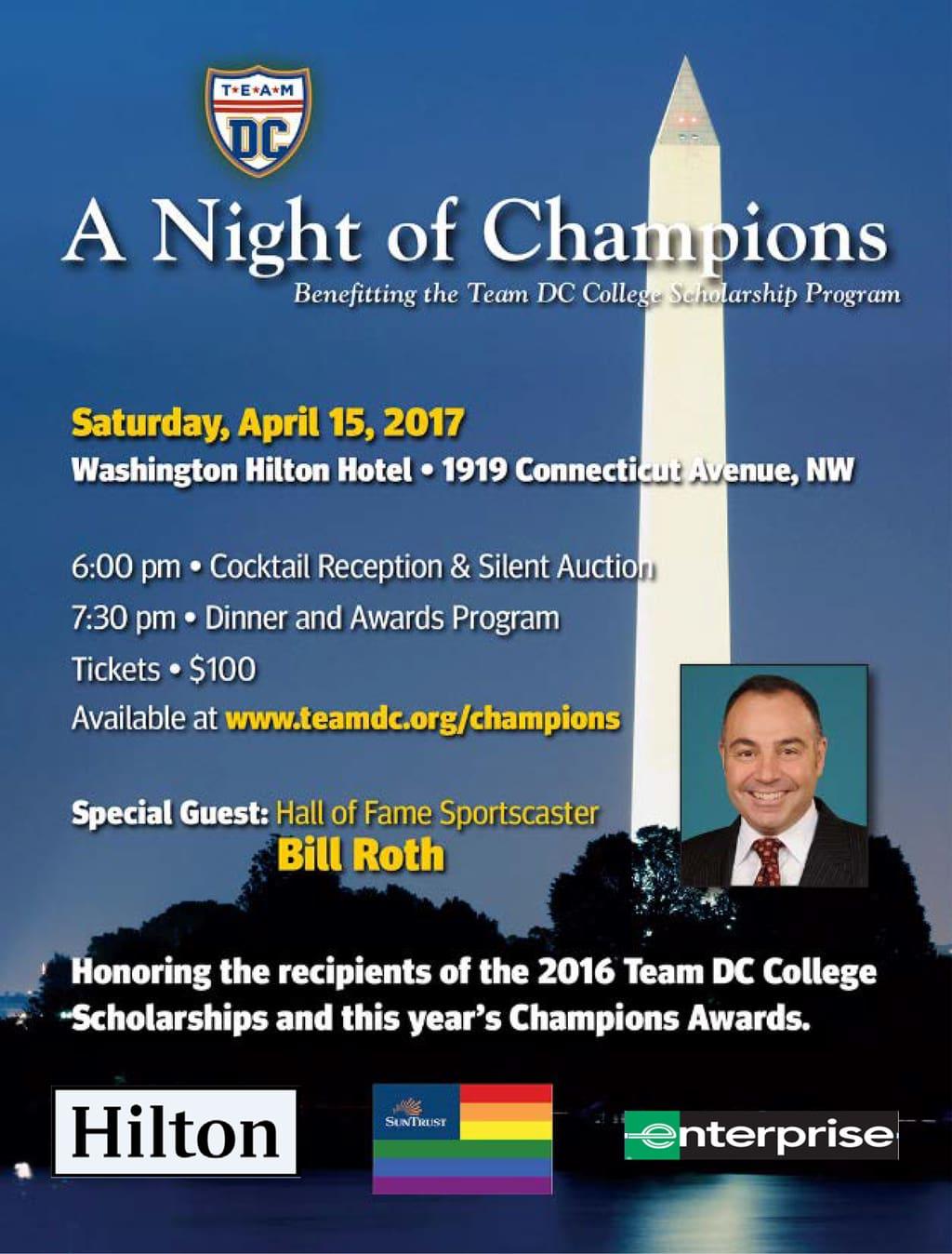 Night of Champions Awards Dinner